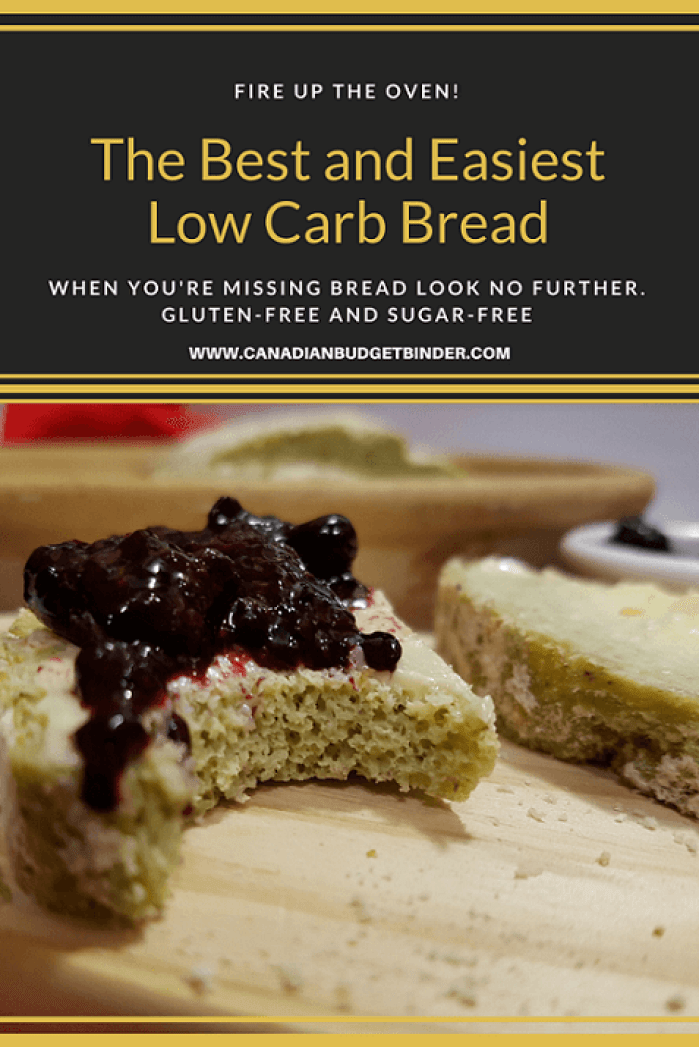 The Best and Easiest Low Carb Bread P7