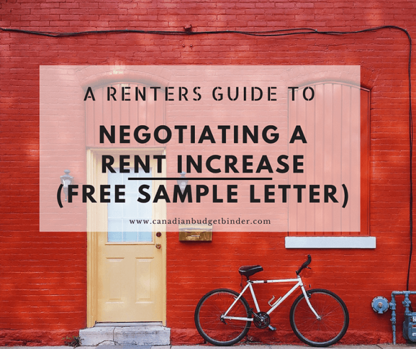 a renters guide to negotiate a rent increase