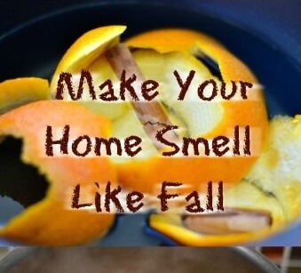 make your home smell like fall