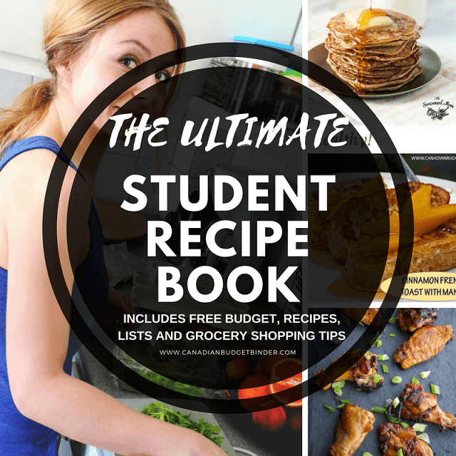The ultimate frugal student recipe book the grocery game challenge the ultimate student recipe book forumfinder Images