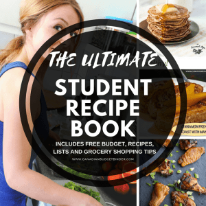 The Ultimate Frugal Student Recipe Book : The Grocery Game Challenge 2017 #3 Aug 14-20