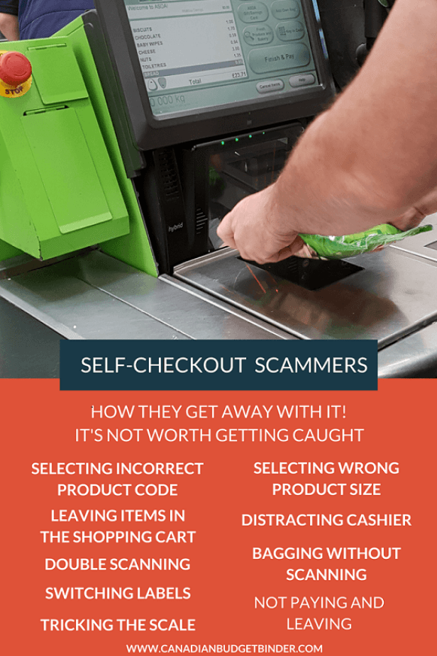 HOW THIEVES SCAM THE SELF-CHECKOUT SYSTEM