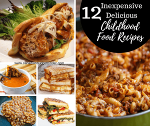 12 Delicious Inexpensive Childhood Food Recipes : The Grocery Game Challenge 2017 #2 Oct 9-15