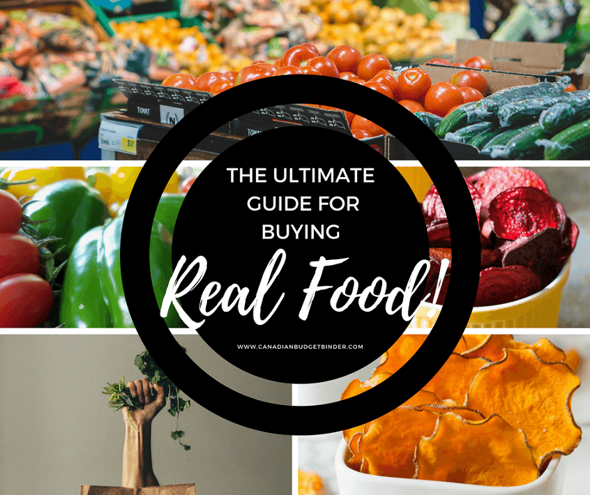 The Ultimate Guide For Buying Real Food : The Grocery Game ...