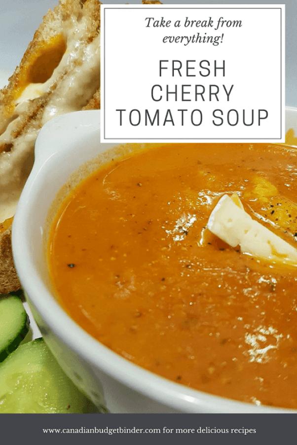 fresh cherry tomato soup homemade 2 pfresh cherry tomato soup homemade 2 p