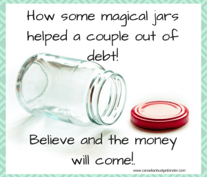 how some magical jars helped one couple out of debt