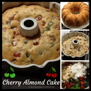 Easy Cherry Almond Cake
