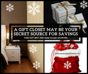 gift closet savings
