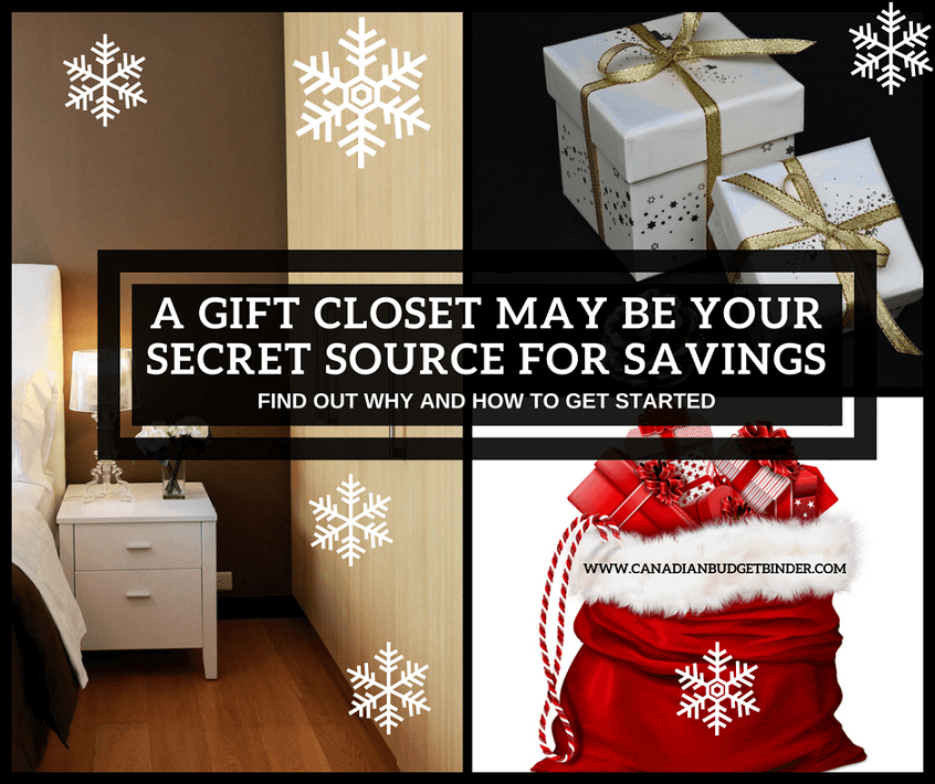 How A Gift Closet May Be Your Secret Source For Savings : The Saturday Weekend Review #245