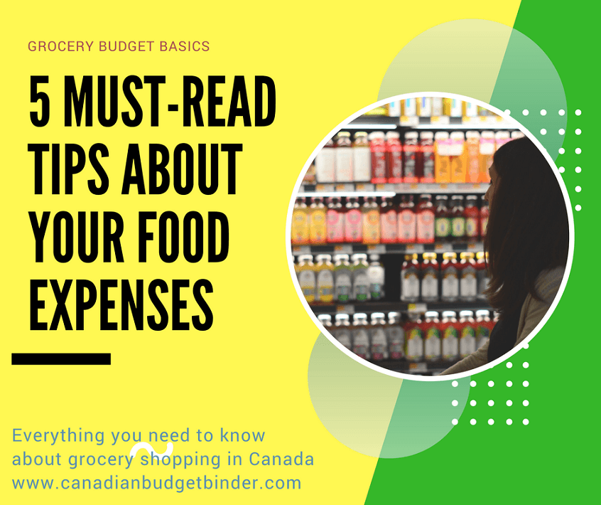 Grocery Budget Basics: 5 Must-Read Tips About Your Food