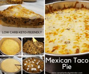Deep-Dish Mexican Taco Pie (Keto, Low-Carb)