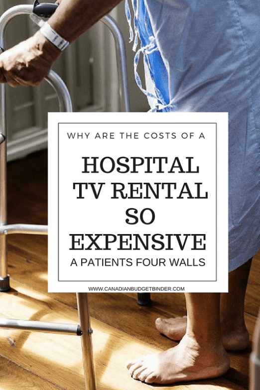 THE COSTS OF A HOSPITAL TV RENTAL-1