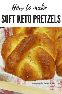 how to make soft keto pretzels low carb gluten free