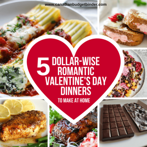 5 budget Valentine's Day Dinners to make at home