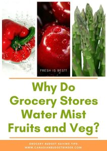 Why Do Grocery Stores Water Mist Fruits and Vegetables? : The Grocery Game Challenge 2018 #1 February 5-11