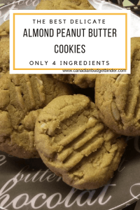 almond peanut butter cookies recipe gluten free