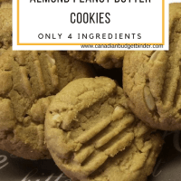 almond peanut butter cookies recipe gluten free