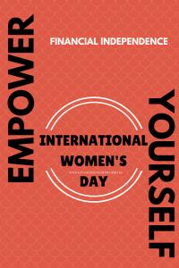 financial empowerment tips International women's day