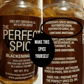 the perfect spice make it yourself