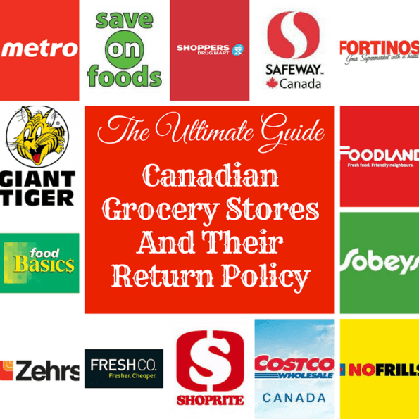 Canadian Grocery Store Return Policies