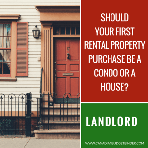 your first rental property condo or house