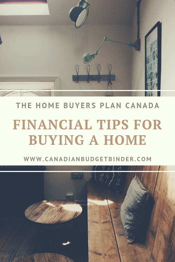 Financial Tips Home Buyers Plan Canada