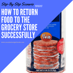 How To Return Food To A Grocery Store Successfully : The Grocery Game Challenge 2018 #4 May 21-27