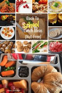 back to school lunch ideas nut-free