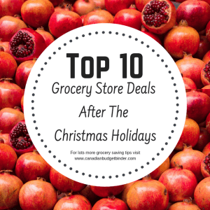 0 grocery store deals after Christmas holidays