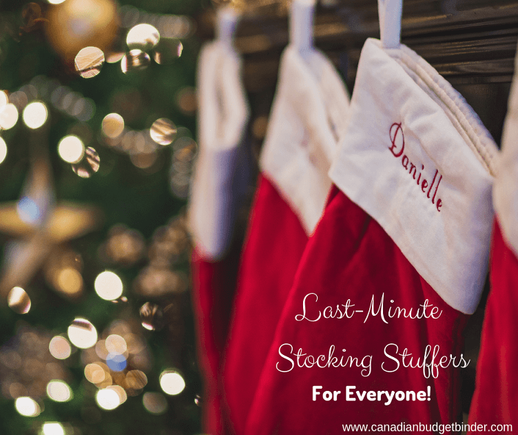 Frugal Last-Minute Stocking Stuffer Ideas For Everyone : The Saturday Weekend Review #269