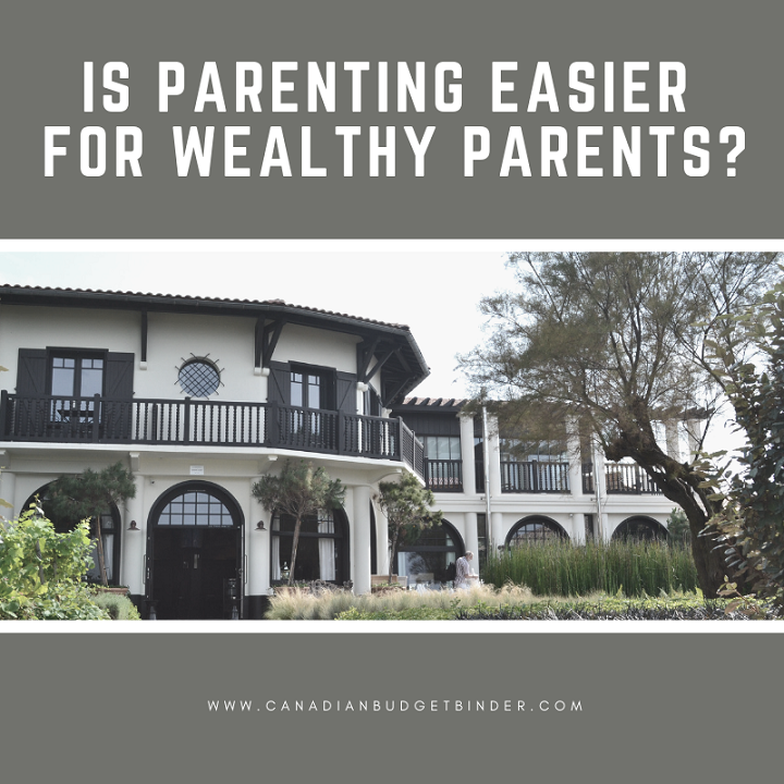 is parenting easier for wealthy parents