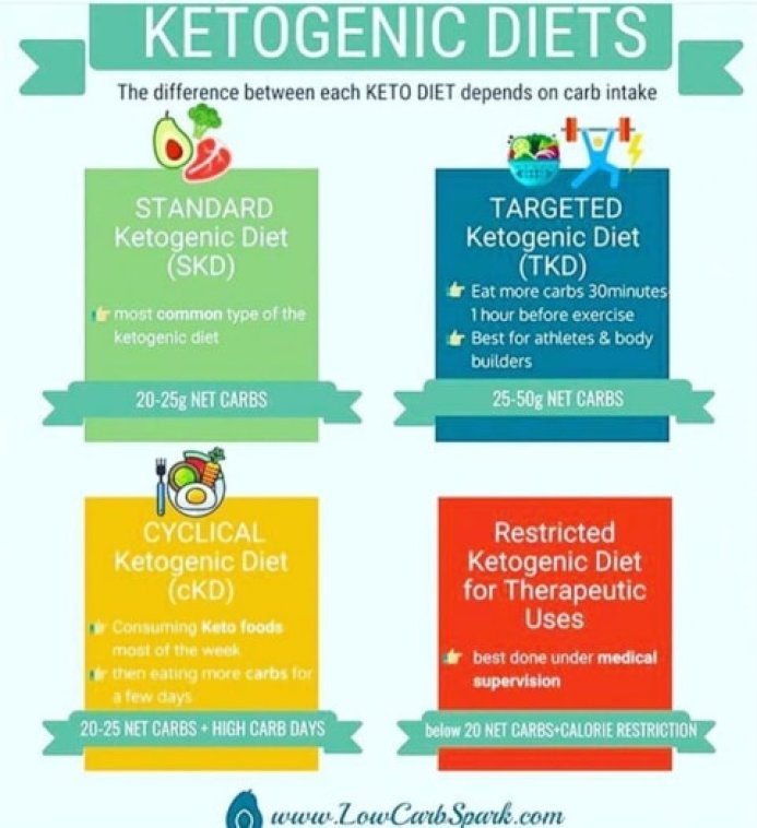 types of ketogenic diets explained