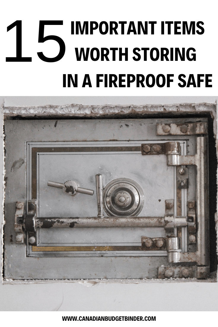 15 Important Items Worth Storing In A Fireproof Safe