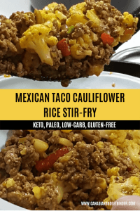 Mexican Taco Cauliflower Rice Stir-Fry 3