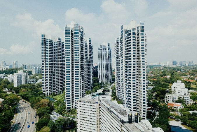 downtown highrise apartments