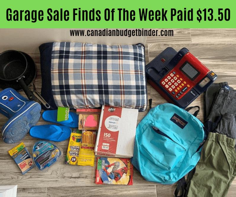 garage sale finds Canada