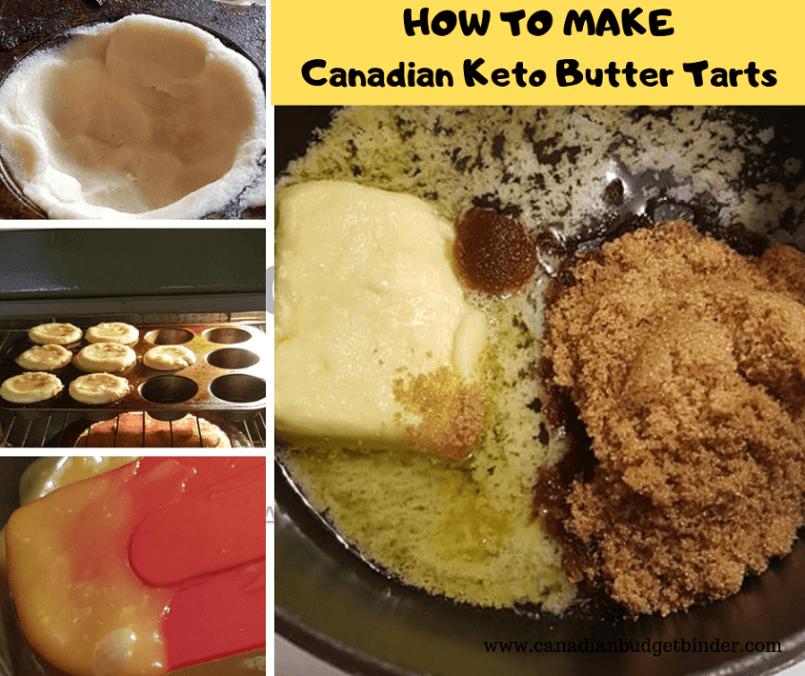 Canadian Keto Butter Tart Shells