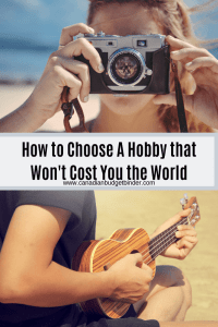 How to Choose A Hobby that Won't Cost You the World