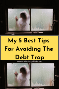 my 5 best tips for avoiding the debt trap