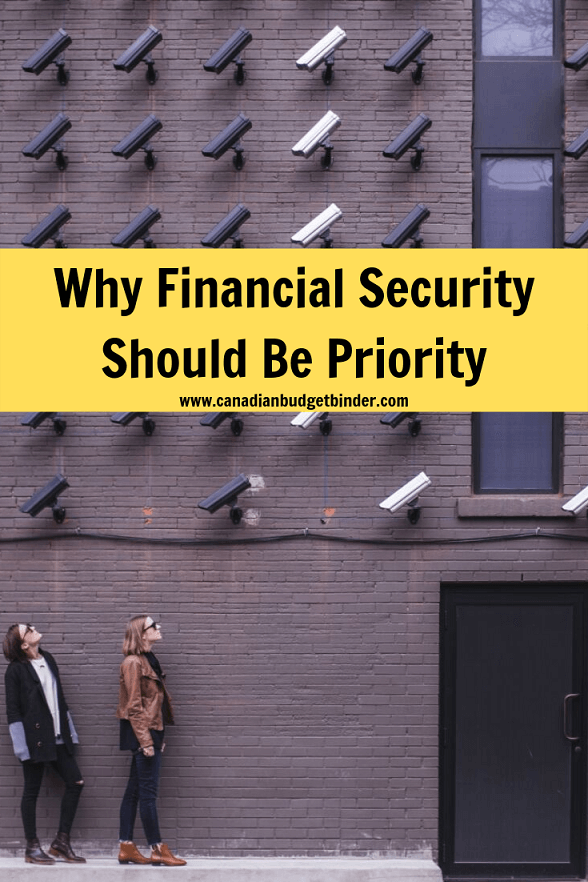 Why financial security should be top priority in Canada