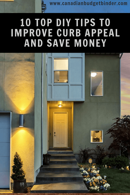 10 Top DIY Tips to Improve Curb Appeal and Save Money