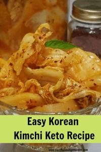 Korean Kimchi Keto