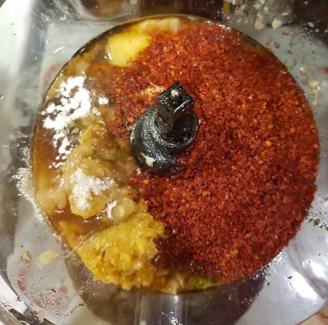 Kimchi Spice Ingredients