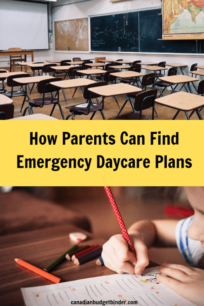 Emergency Daycare Plans