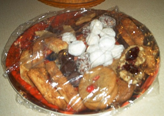 Christmas Cookie Plater