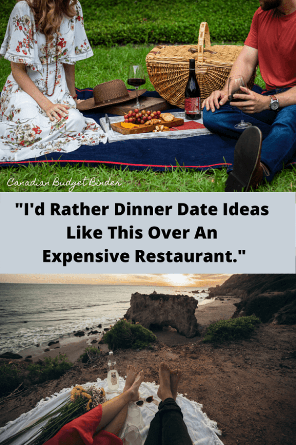 Dinner Date Ideas Quote