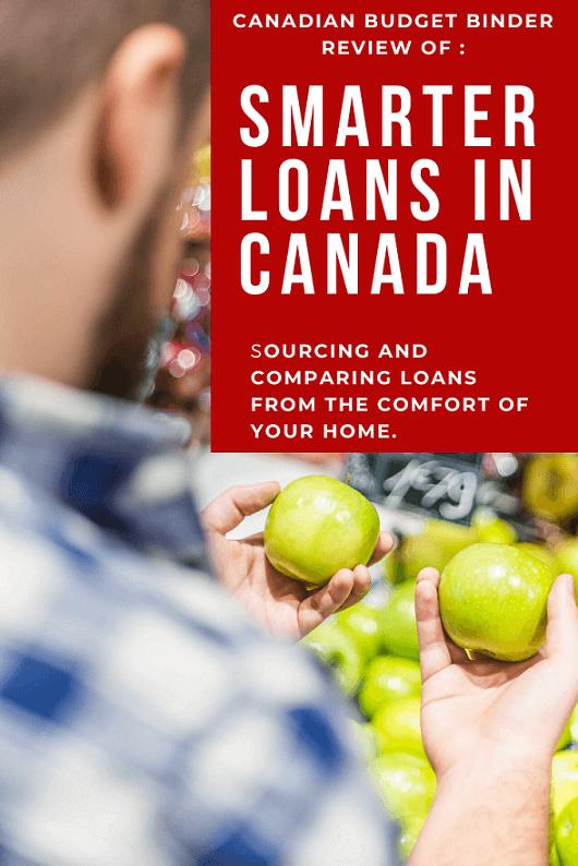 Smarter Loans Offers Canadians Online Comparison Lending - Canadian Budget Binder