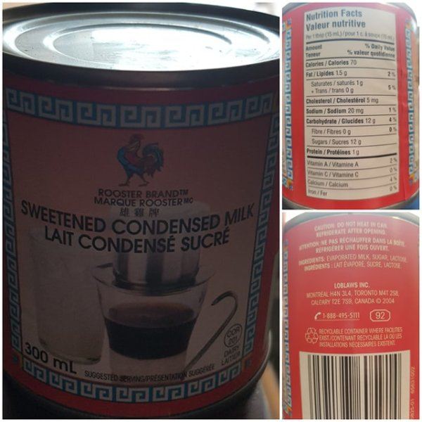 Rooster Brand Condensed Milk