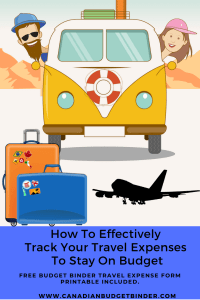 Travel Tracking Expenses