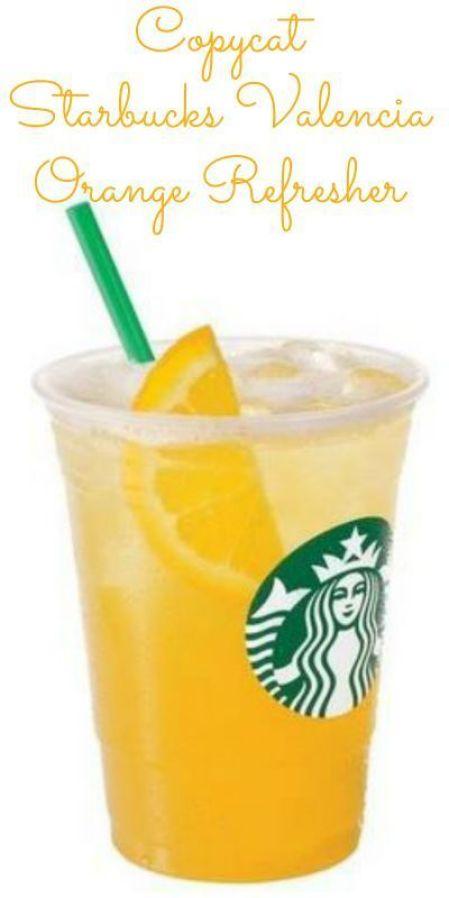 Starbucks Valencia Orange